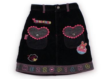 f121faad677bb 中古  メゾピアノ mezzo piano スカート 130サイズ 女の子 子供服 ...