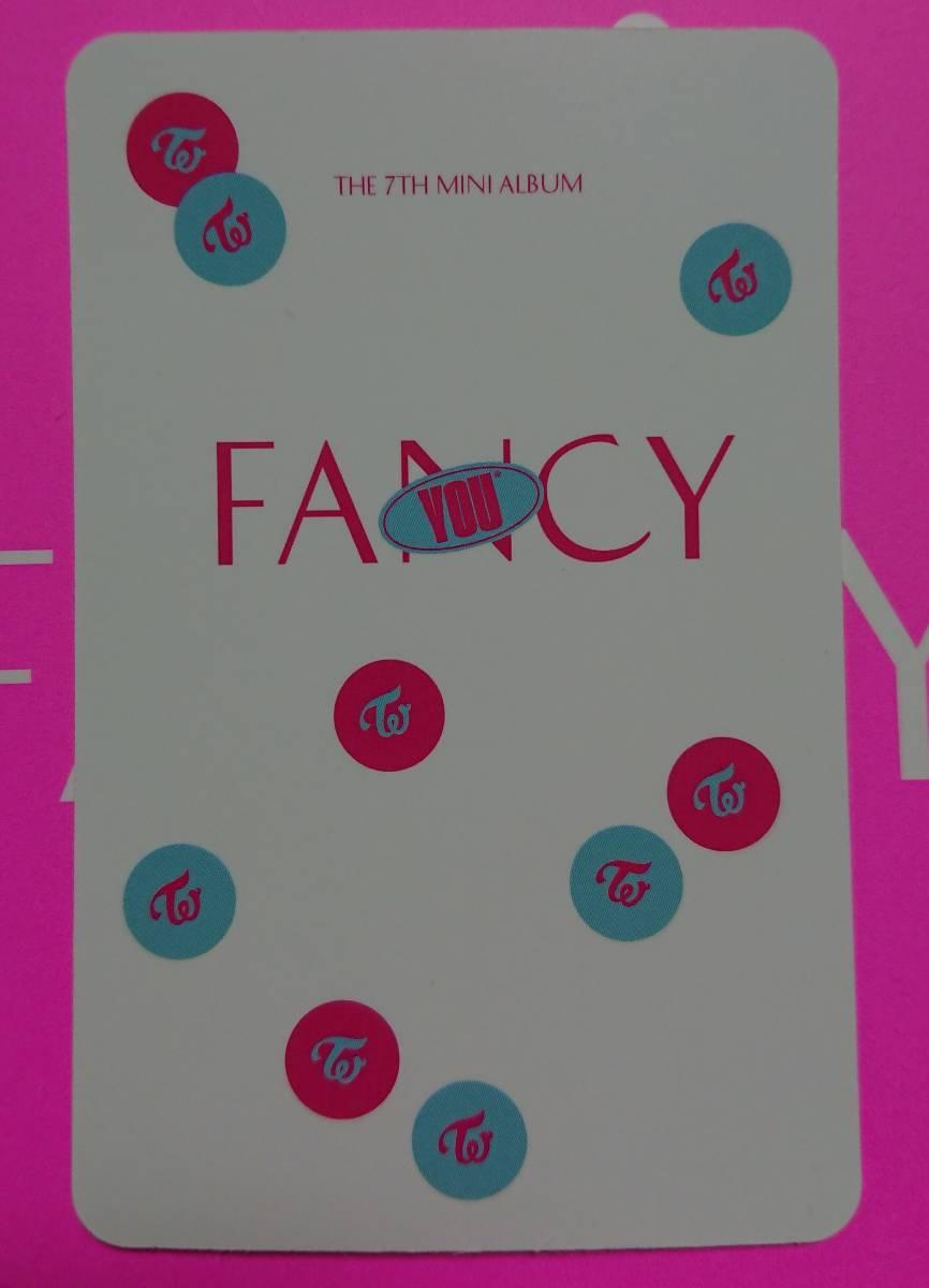 twice fancy トレカ ナヨン