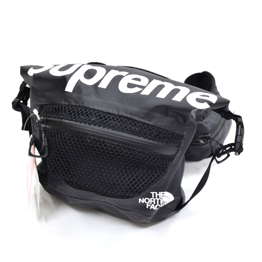 faaf1c79792 【美品】17SS Supreme x THE NORTH FACE Water Proof Waist Bag ウォータープルーフ