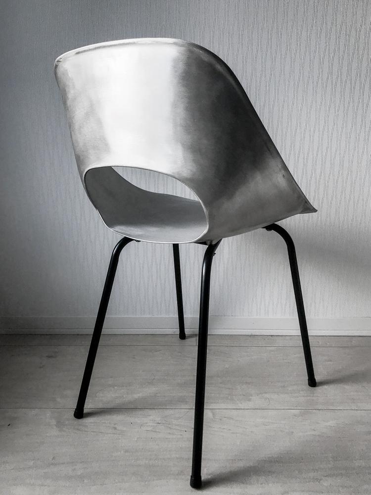 中古 レア pierre guariche tulip chair ピエール ガーリッシュの