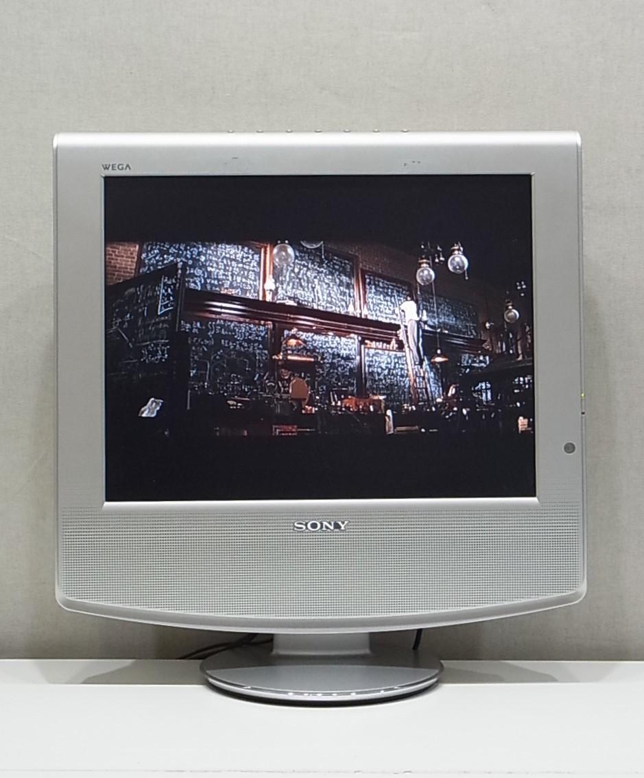 中古 klv 15ap2 ベガ ソニー アナログ液晶テレビ wega の落札情報詳細