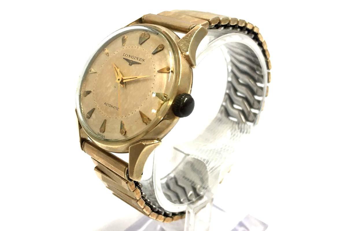 6b1ac535fe LONGINES/ロンジン 腕時計 自動巻き AT 10K GF GOLD FIELD エクステンション ゴールド dの1
