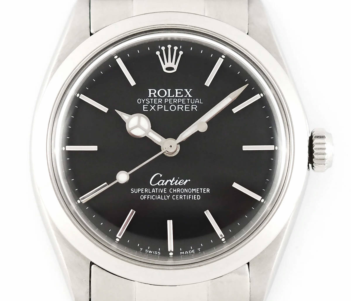 the latest 838fb 17f3f 中古】ROLEX エクスプローラー【カルティエ Wネーム】Cartier ...