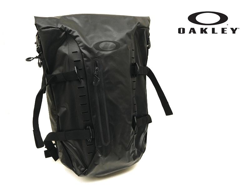 73e6a8b486ba 新品 OAKLEY オークリー FACTORY PILOT 防水 ロールトップ バックパック リュック 黒 / n529-1