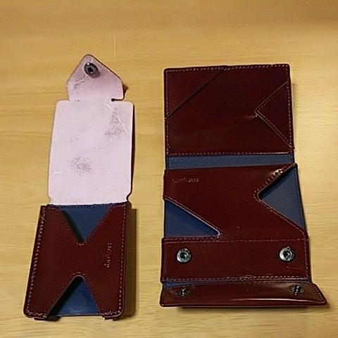 e77c071c1d52 薄い財布abrAsus(アブラサス)classicと薄いカードケースclassicセットの1番目
