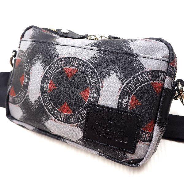 3b09089be85df 新品 Vivienne Westwood ヴィヴィアンウエストウッド VWB561 ペーパーフリ メンズバッグ 横型ショルダーバッグ ボディバッグ