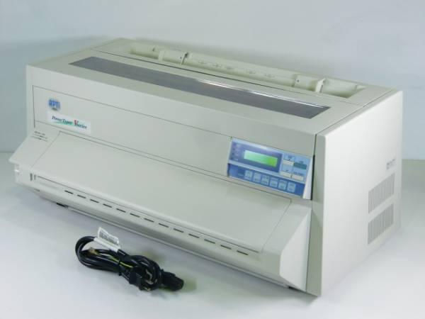中古 apti ドットプリンタ powertyper v850 lan usb no 5163 の落札