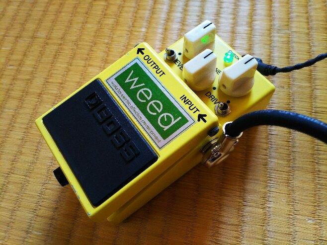 中古】☆至高のサウンド! WEED SD-1 Mod BOSS TS808 TS9 TS10 landgraff