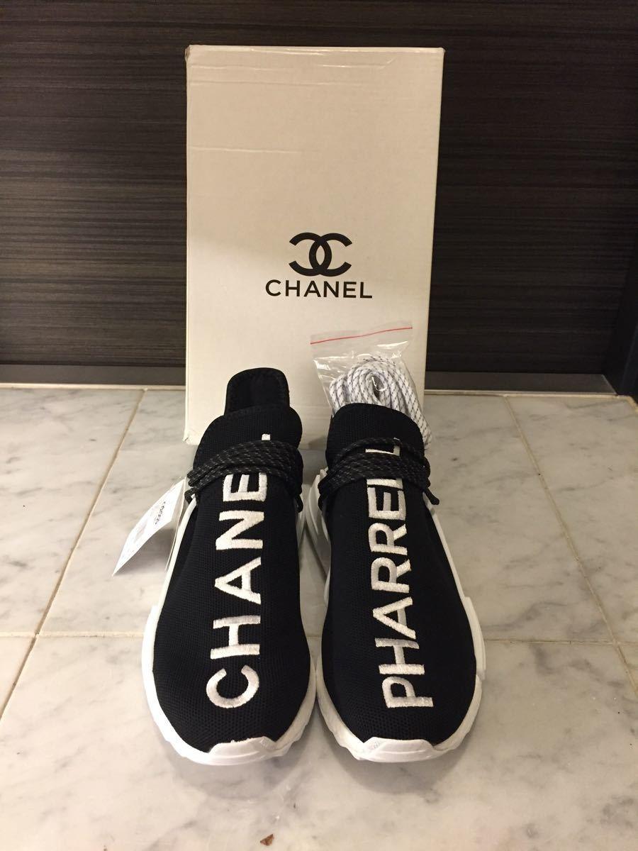 timeless design 2c5b9 fc20b 新品】adidasPharrell x Chanel x NMD Trail Human Race ...