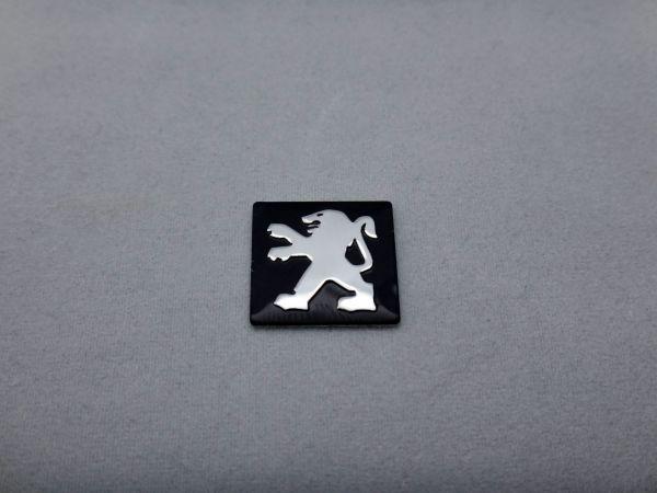 送料無料 プジョー エンブレム キーレス ケース アルミ ロゴ PEUGEOT 新品 即決の1番目の画像