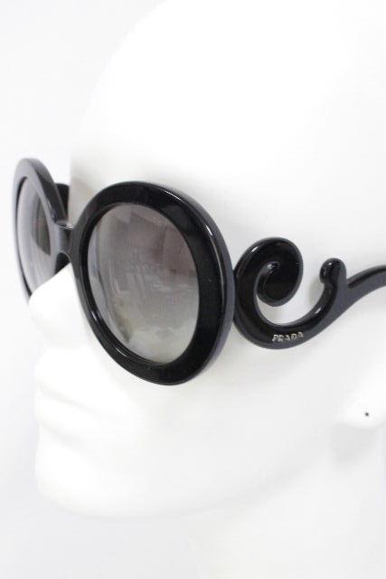 6638db9f0b1f プラダ [ PRADA ] バロック サングラス ブラック 黒 [ SPR27N-A ] ☆付属品