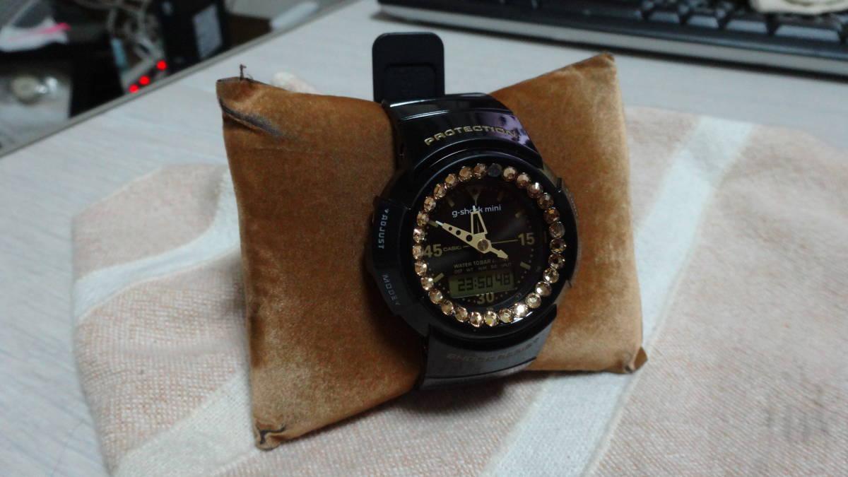 0c24bd97b6 CASIO GMN-50G 難有り BEAMS BOY コラボ g-shock mini カシオ 腕時計 GMN