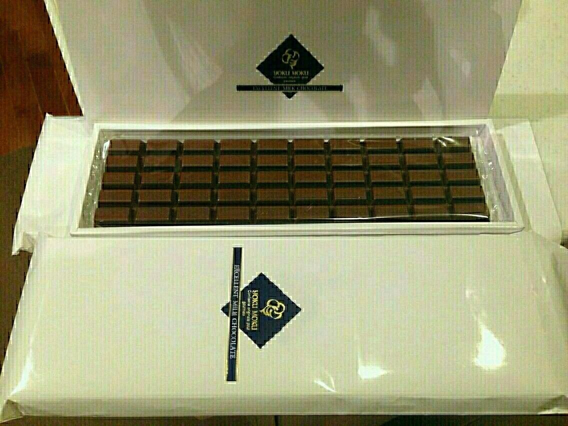 チョコ ヨックモック 板
