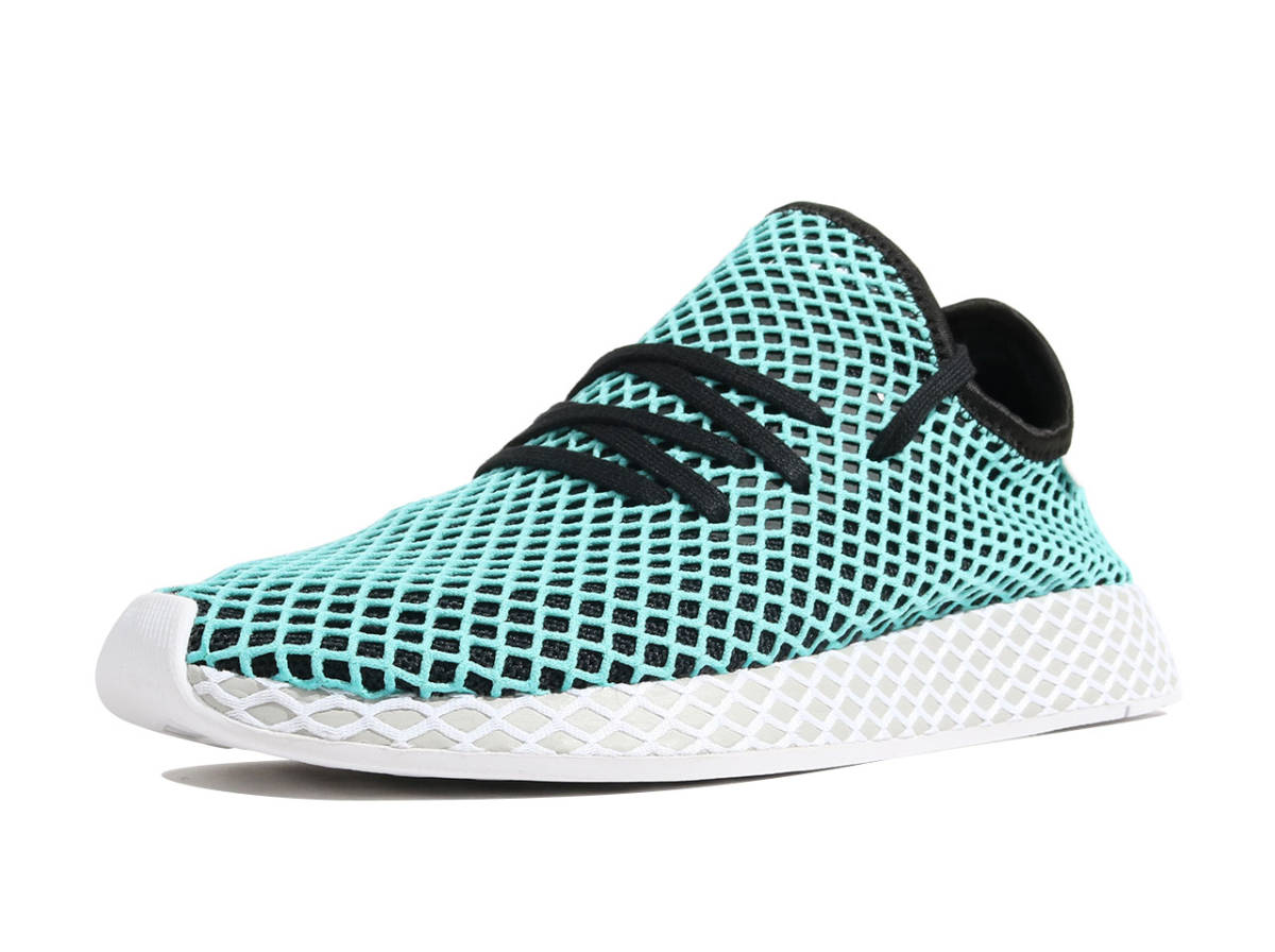 8d87aafda7ae7 ... 定価 1.9万 新品未使用 28.0cm Adidas DEERUPT RUNNER PARLEY CQ2623 Parley for the  ...