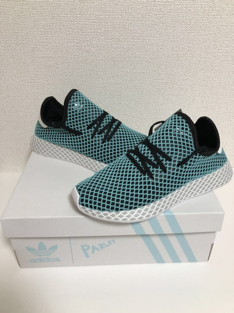 e9a8338f1 ... 定価 1.9万 新品未使用 28.0cm Adidas DEERUPT RUNNER PARLEY CQ2623 Parley for the