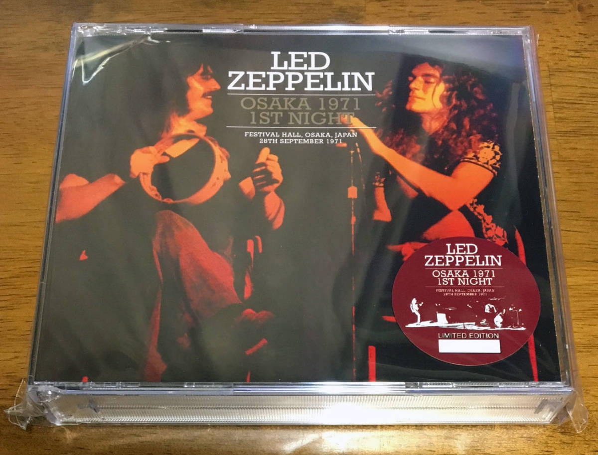 LED ZEPPELIN OSAKA 1971 1ST NIGHT (3CD) の落札情報詳細
