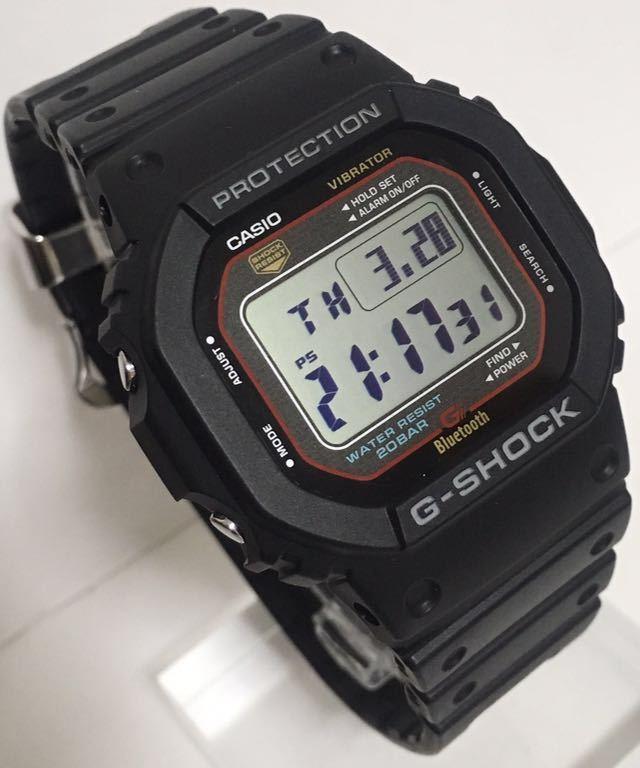 83468028d8 美品 CASIO G-SHOCK GB-5600AA-1JF Bluetooth ブルートゥース v4.0 ...