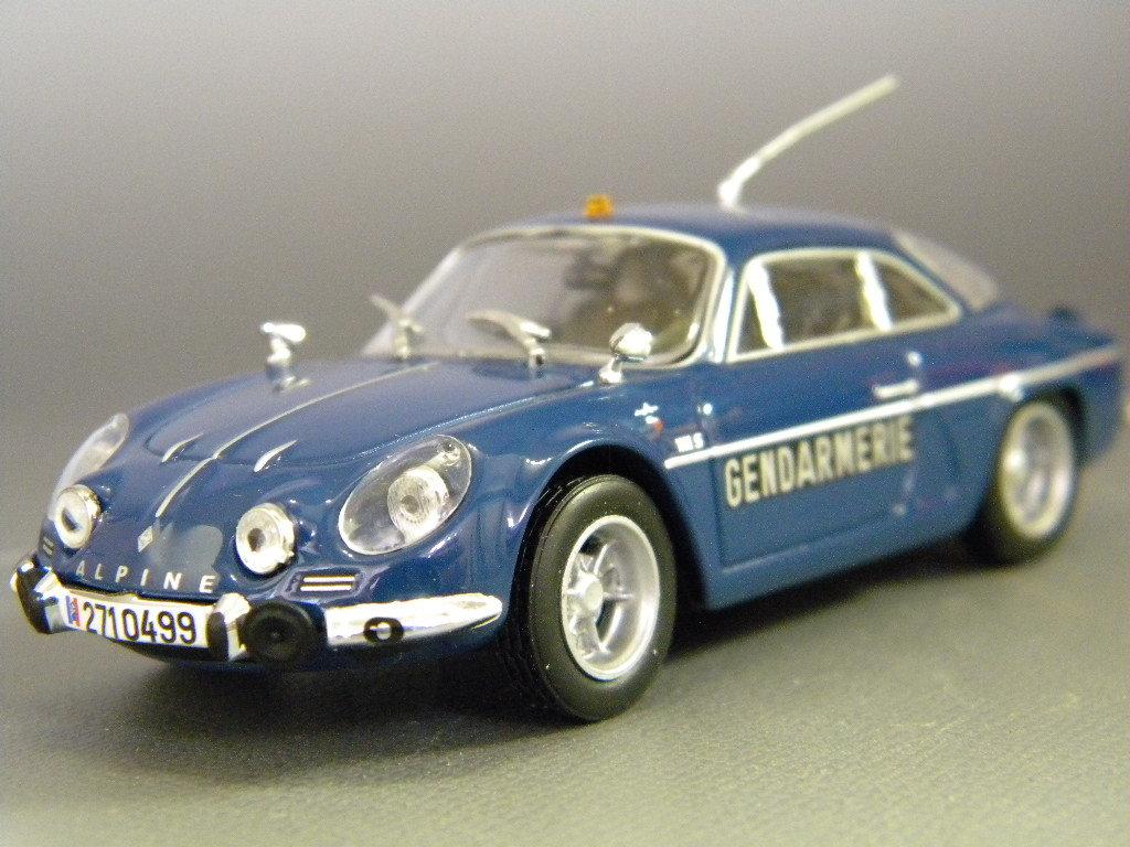Alpine Renault A 110 blau 1973 1:43 UH//Hachette