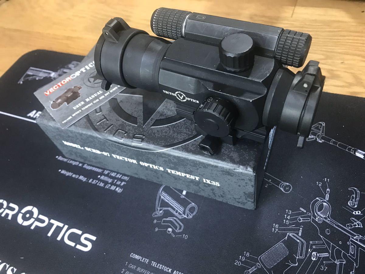 オプティクス ベクター Vector Opticsに興味がある人必見!ベクターのドットサイトまとめてレビュー!