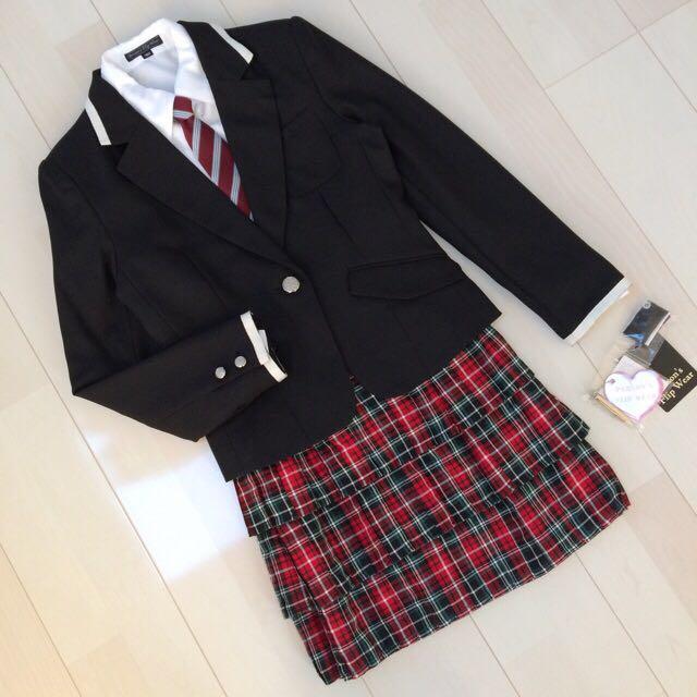 5331558fec1de 新品タグ付き パーソンズ スーツ5点セット 160cm 女の子 女児 フォーマル 受験 面接 卒業式