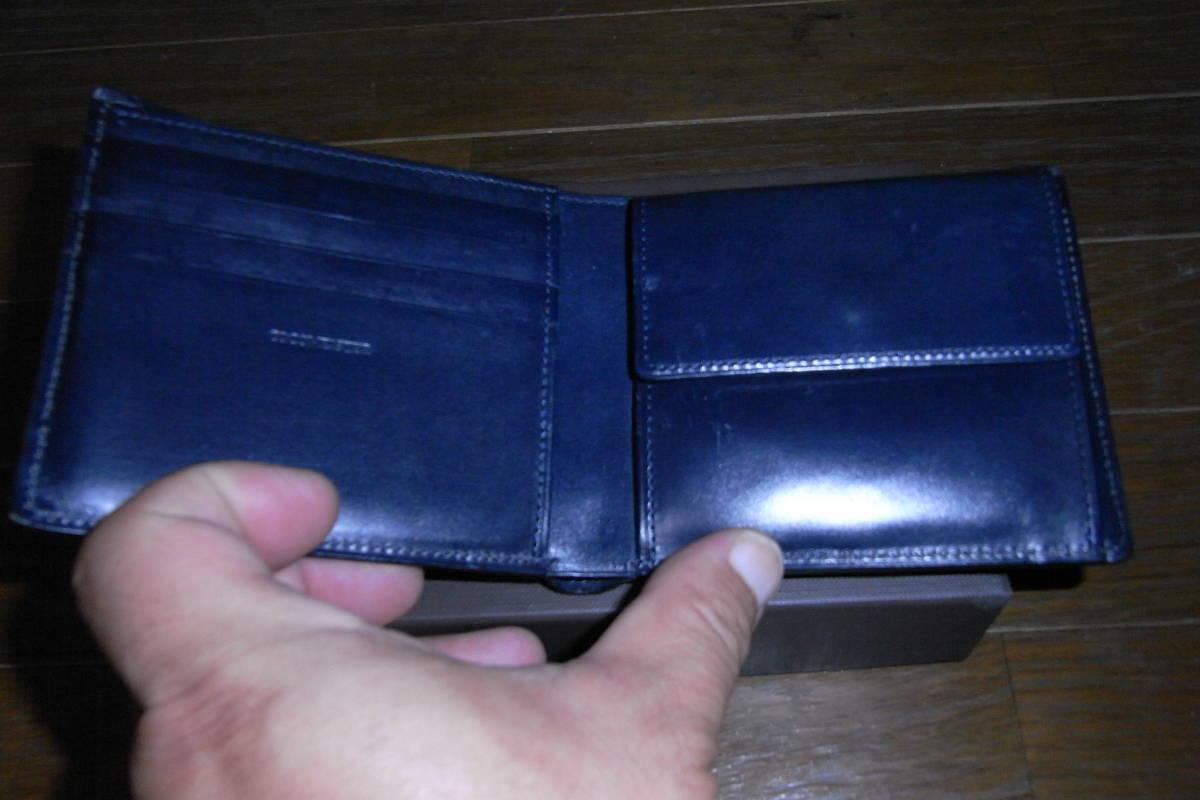 2f99b6071cc2 ... 美品 定価36000円 COCOMEISTER ココマイスター ジョージブライドル バイアリーパース 二つ折り ダーク