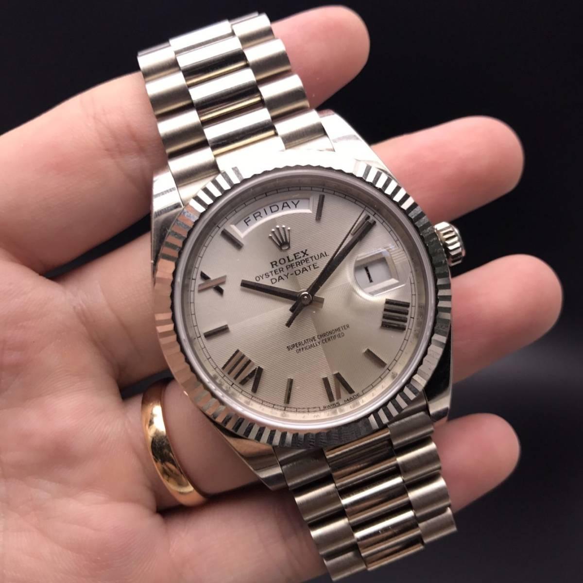 quality design 9f60b 9aee3 新品】ロレックス ROLEX デイデイト40 228239 新品 時計 [メンズ ...