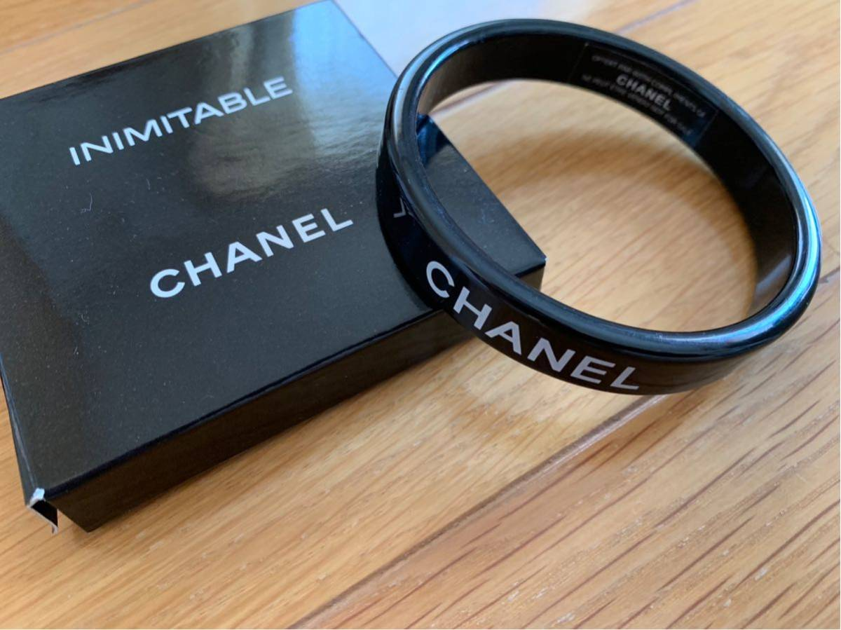 e94a2125d94d 【新品未使用】 シャネル CHANEL ROUGE COCO 限定 ブレスレット 黒 非売品 ブラック ホワイトロゴ