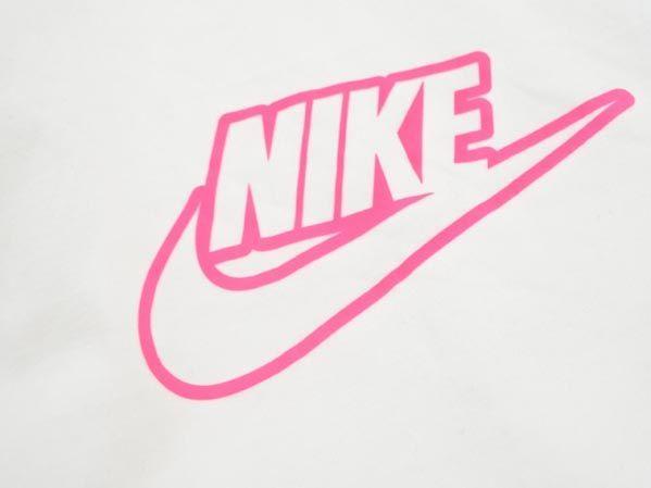 ネコポスOK NIKE ナイキ ロゴ プリント Tシャツ カットソー sizeXL/白 □◇ ☆ jac4