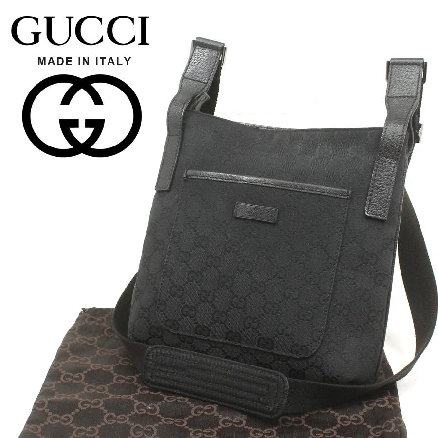 8b6ce6cb63fe 定価¥68,250- 正規品 美品 イタリア製 GUCCI グッチ GGキャンバス ショルダーバッグ