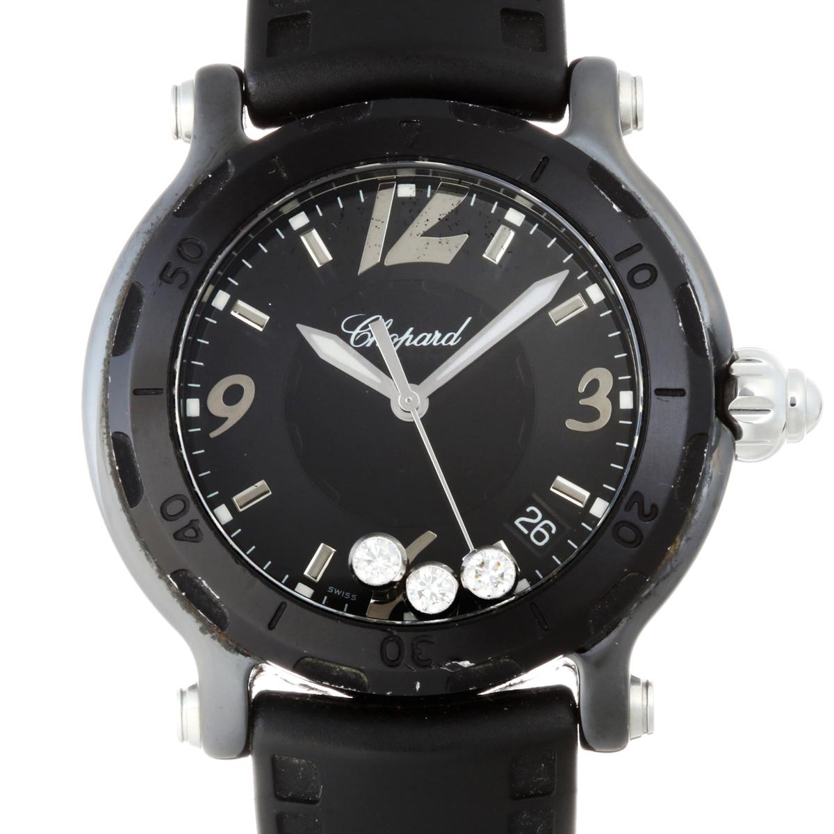 super popular 9aec6 a17f8 銀座店]Chopard ショパール ビーハッピー 28/8507-9008 腕時計 ...