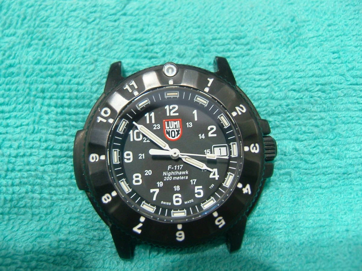 4a4923f02f 中古 LUMI NOX ルミノックス F-117 メンズ腕時計 クォーツ 稼動品 223 の ...