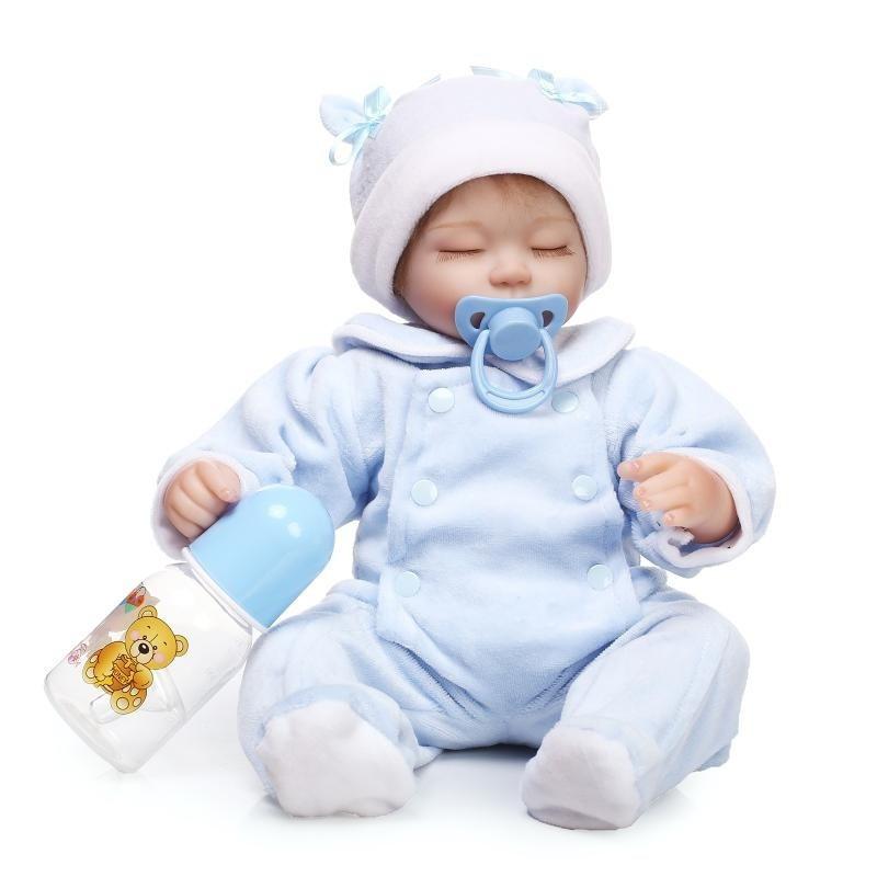 8efe9cf21339f  送料無料 リボーンドール リアル赤ちゃん人形 ハンドメイド海外ドール 衣装とおしゃぶり・