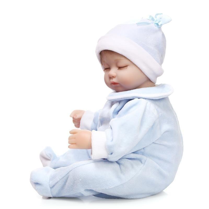 818010de3ad19 ...  送料無料 リボーンドール リアル赤ちゃん人形 ハンドメイド海外ドール 衣装とおしゃぶり・