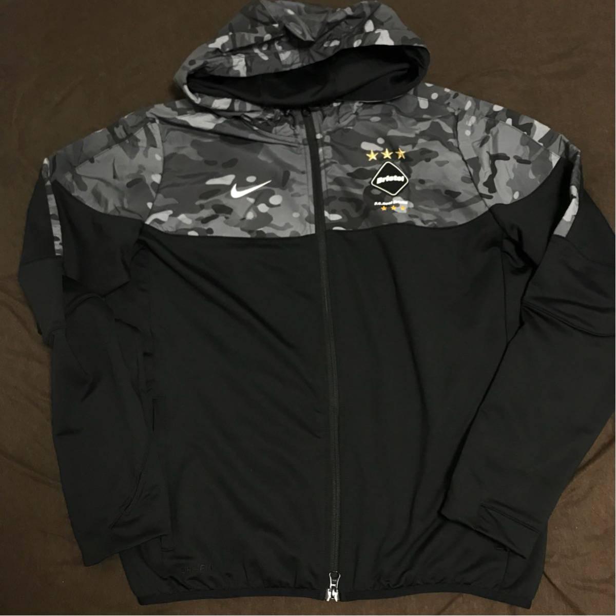 861c348ceb  新品M FCRB NIKE BRISTOL hoody hoodie パーカー カモフラ sophnet jacket fragment gyakusou  real