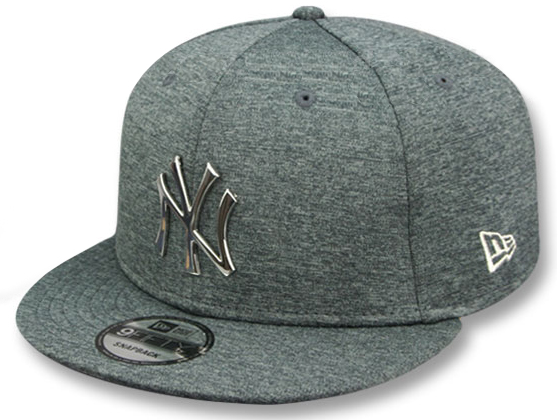 39b9ca2c OUTLET 100円スタート NEW ERA NEW YORK YANKEES MLB SILVER METAL-BADGE SNAPBACK  SHADOW