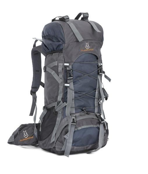 4d9612dbb0e1 ... 0166B/アウトドア 登山用バッグ 丈夫 収納性抜群 リュックサック 60L 大容量 バック