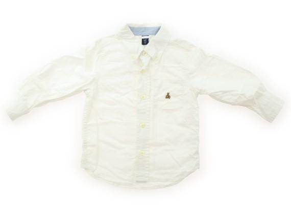 aa11940ab8aa8 ギャップ GAP シャツ・ブラウス 95 男の子 白 子供服 ベビー服 キッズ(302784)の