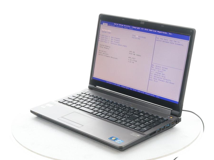 UNITCOM LBDi-CL6H4 W350ET Core i7 3630QM 2 40GHz 8GB□現状品 の落札