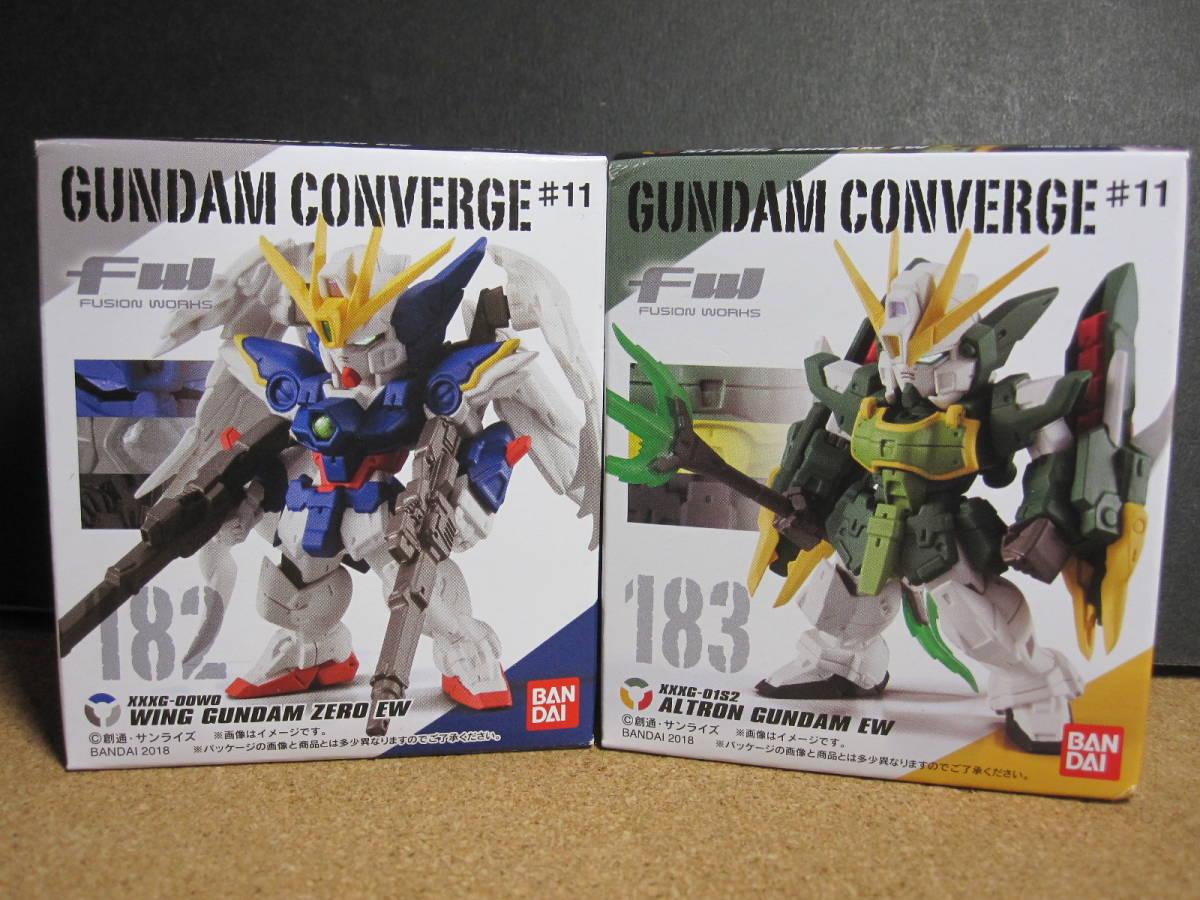 F//S BANDAI FW GUNDAM CONVERGE ♯11 Altron Gundam NEW Figure EW version