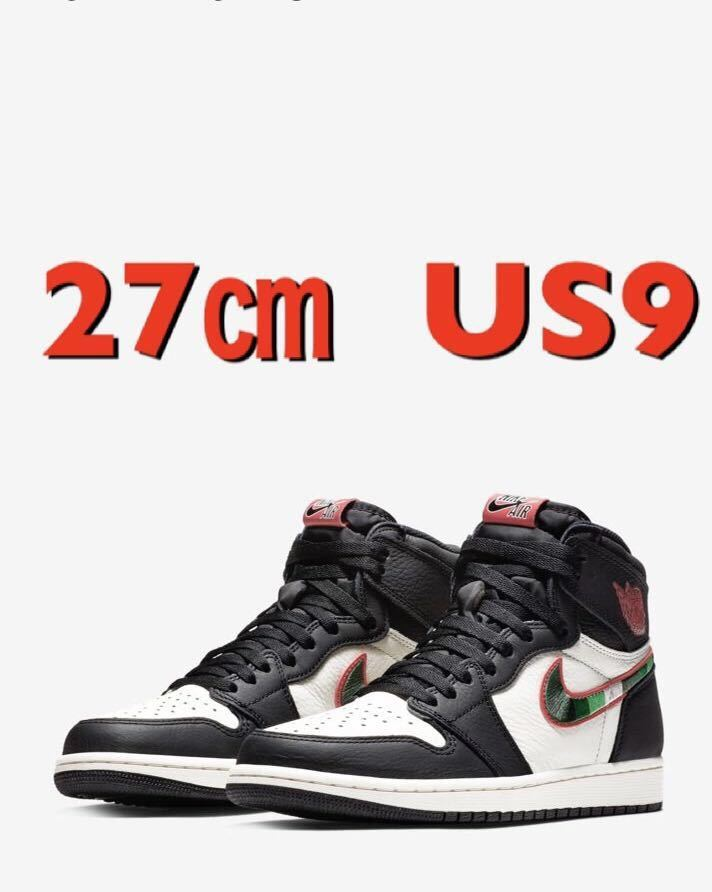 new product 15478 e87a9 27㎝ US9 NIKE AIR JORDAN 1 RETRO HIGH OG A STAR IS BORN SNSに