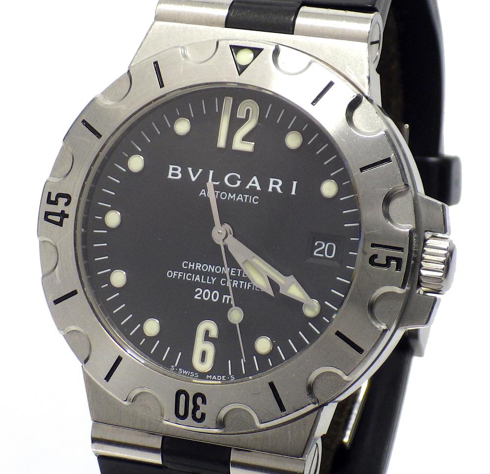 brand new cc398 7293f 中古】BVLGARI AUTOMATIC ブルガリ 腕時計 自動巻き SD 38S ...
