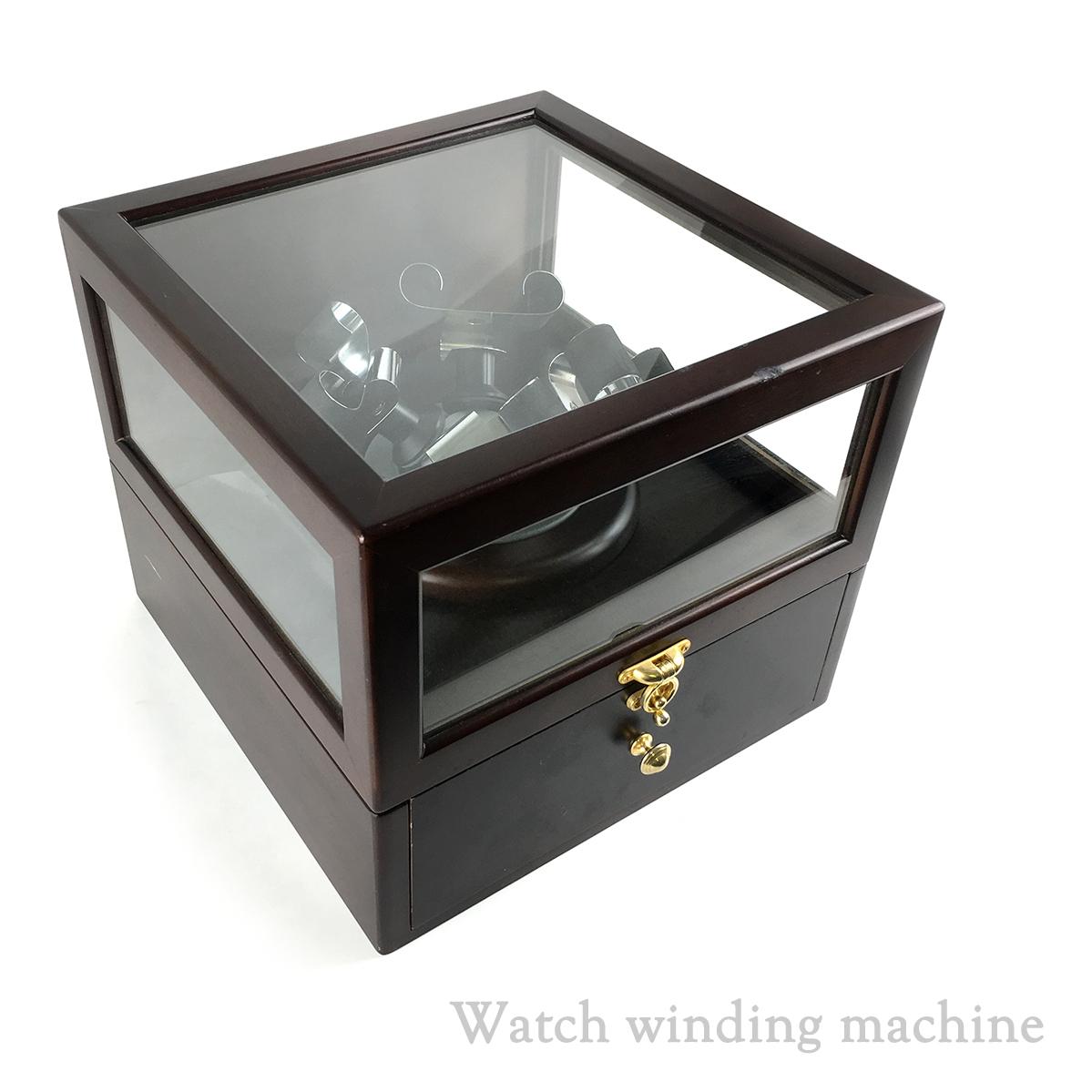 cheap for discount 8ada6 93176 動作品 時計ケース ウォッチ ワインダー ボックス ...