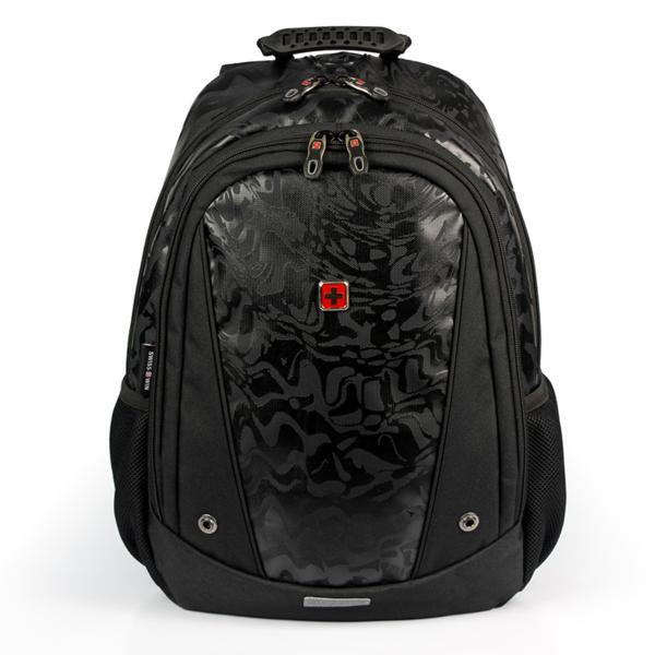 0da72b9c38 swisswin リュック レディース メンズ リュックサック 大容量 軽量 登山 通学 旅行 ビジネス 通勤 バッグ ブランド
