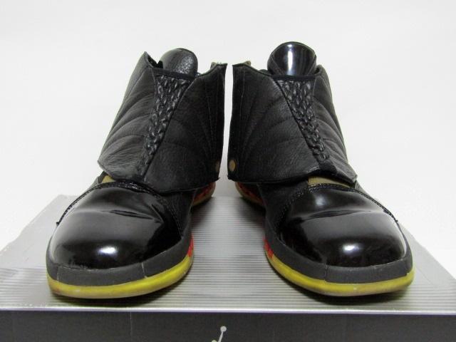 b5b0d4bf85b926 中古 1円スタート 00年製 Nike Air Jordan 16 3 4 Hi Men Bred black ...