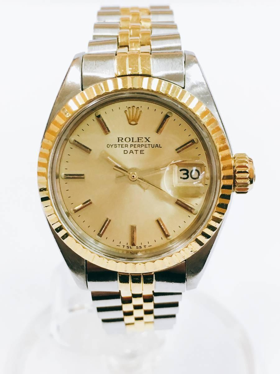 timeless design 0c7de 422d1 中古】【美品】 ROLEX ロレックス OYSTER PERPETUAL DATE ...