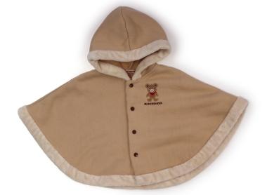 790be5552f93db ミキハウス miki HOUSE ポンチョ 70サイズ 男の子 子供服 ベビー服 キッズ(220203)の1