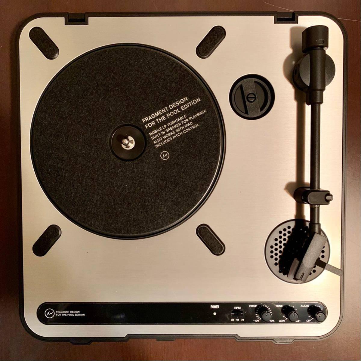 中古 激レア 早い者勝ち fragment design x ion audio レコード