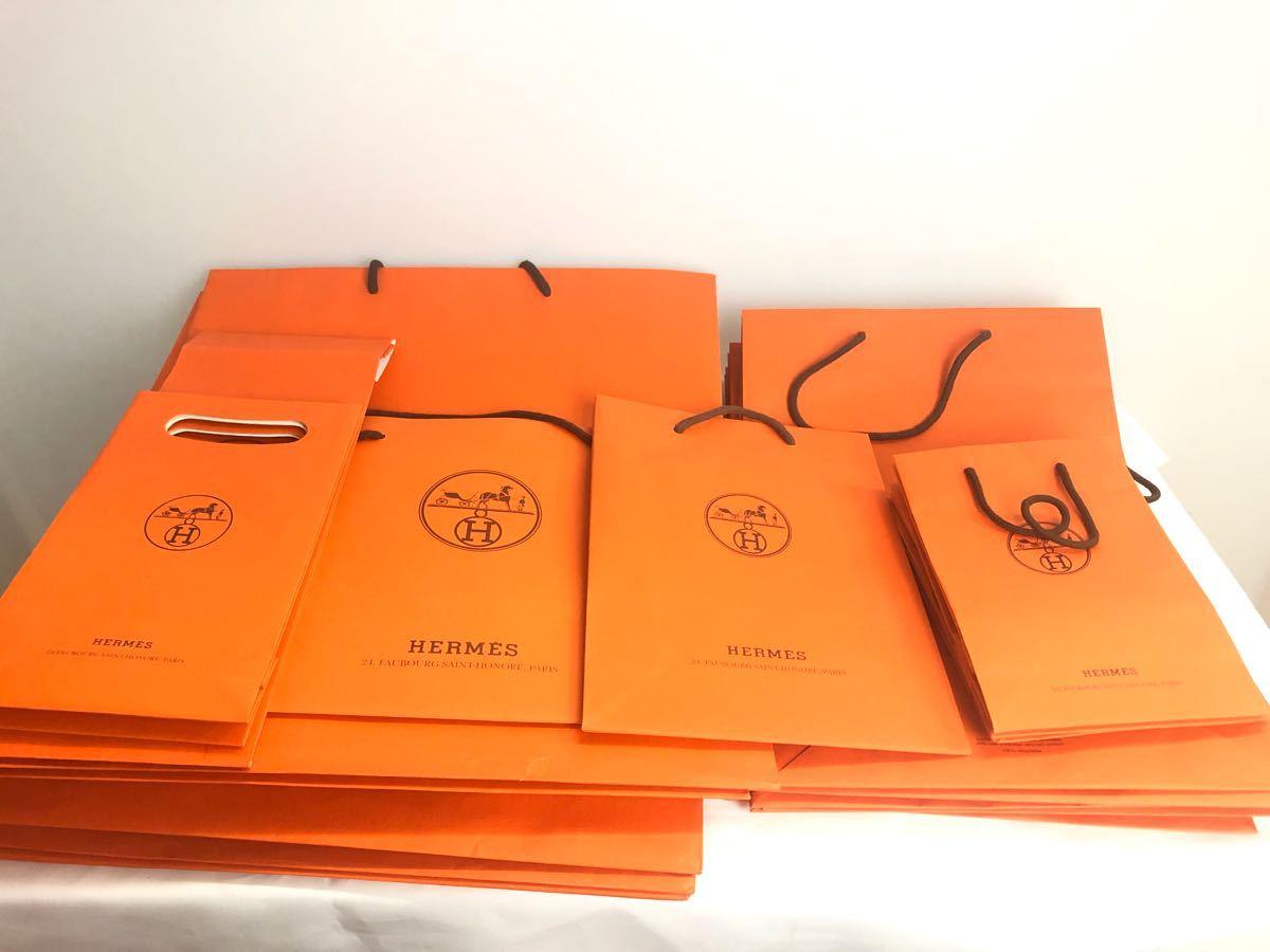 702efd734c84 1000円スタート☆HERMES エルメス 紙袋 ショップ袋 38枚 大 中 小 その他 ブランド