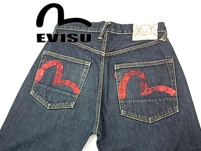 Evisu de Ropa hombres 34 Jeans OkXPiulwZT