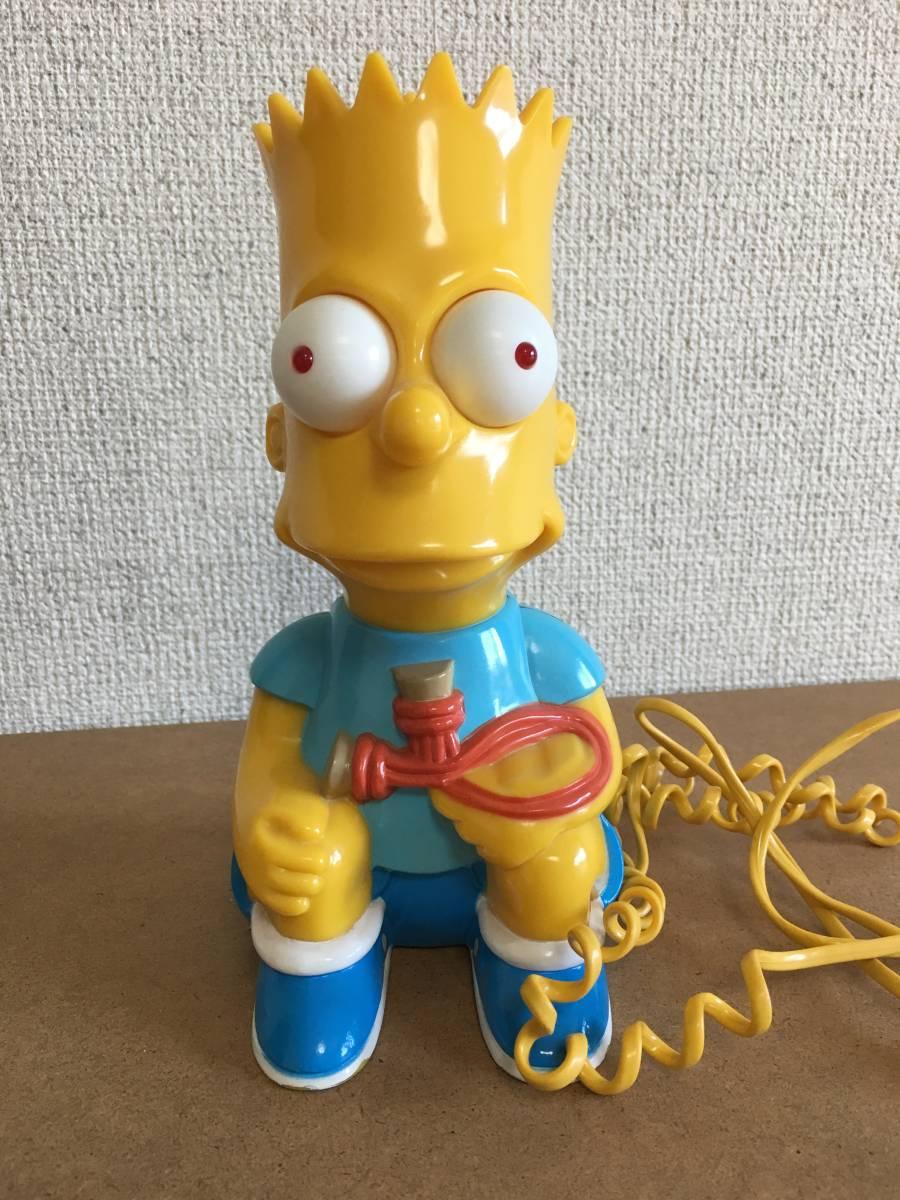 ザ シンプソンズ フィギュア玩具 バート シンプソン レトロアメリカンキャラクター電話機 The Simpsons Bart Simpson Telephone の落札情報詳細 ヤフオク落札価格情報 オークフリー スマートフォン版